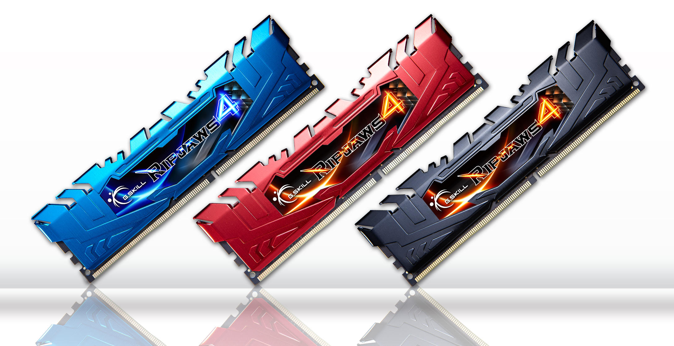 $53.09! G.SKILL Ripjaws 4 16GB (2 x 8GB) DDR4 2400 Desktop Memory