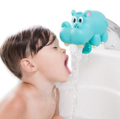 Nuby Hippo Water Spout Guard, Blue @ Amazon