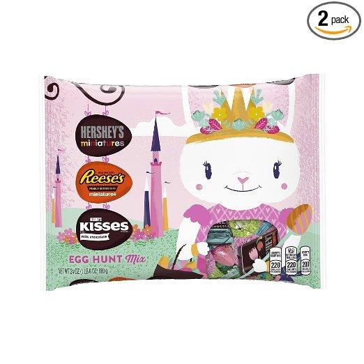 $11.18 Hershey's Easter Assortment, 24-Ounce Bags (Pack of 2)