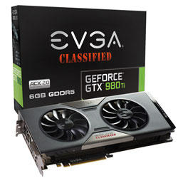 EVGA GeForce GTX 980 Ti 06G-P4-0998-KR 6GB FTW