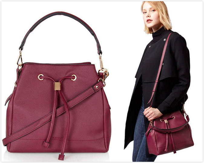 $32.94 Topshop 'Westly' Faux Leather Satchel On Sale @ Nordstrom