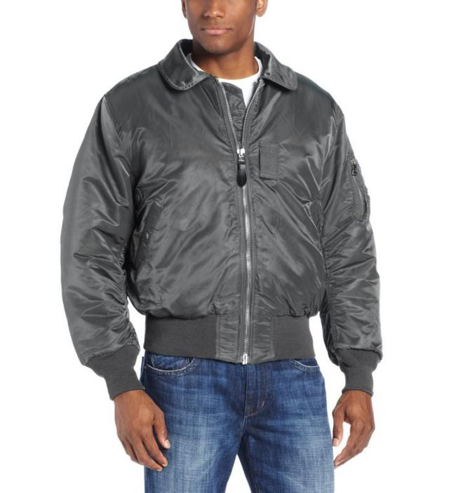 $43.88 Alpha Industries Men's B-15 Nylon Flight Jacket