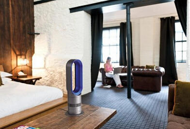 Dyson AM04 Hot & Cool Table Fan - Blue
