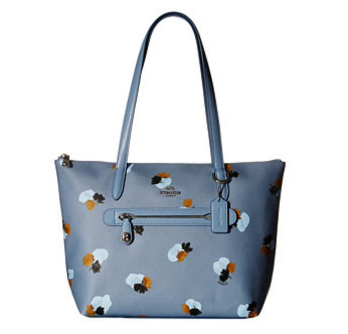 COACH Whls Floral Printed Taylor Tote