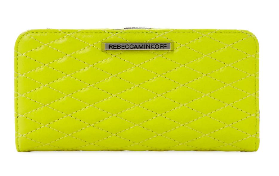 Rebecca Minkoff Sophie Quilted Leather Snap Wallet