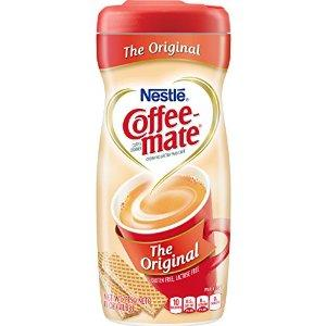 $5.33 Coffee-mate Coffee Creamer, Original Canister, 11-Ounce Containers (Pack of 12)