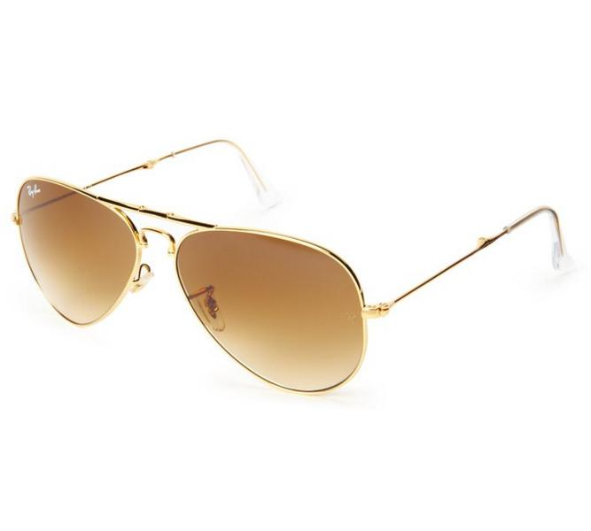 Ray-Ban 0RB3479 Non-Polarized Aviator Sunglasses