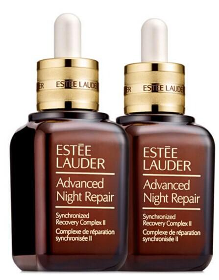$155 + 10-Pc Gift Estée Lauder Advanced Night Repair Synchronized Recovery Complex II Duo @ macys.com