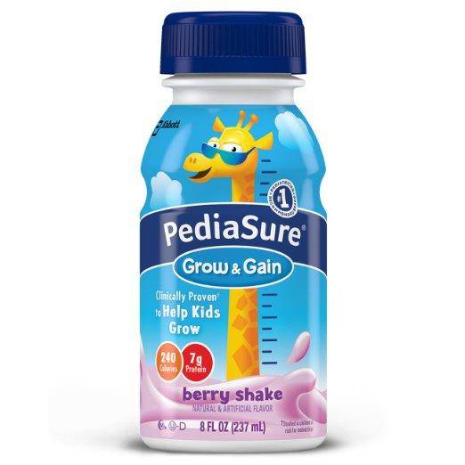 $6.65 PediaSure Nutrition Drink, Berry, 8-Ounce Bottles (Pack of 24)