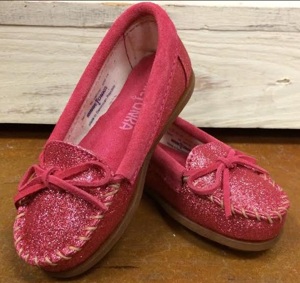 $11.7 Minnetonka Glitter Moc @ Amazon