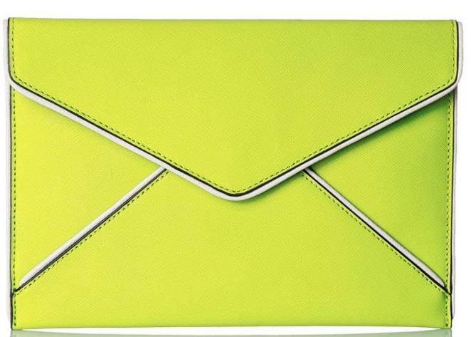 Rebecca Minkoff Leo Clutch @ Amazon