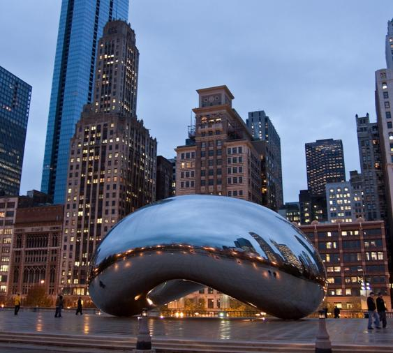 Couples Getaway for 2 to Chicago @ Marriott