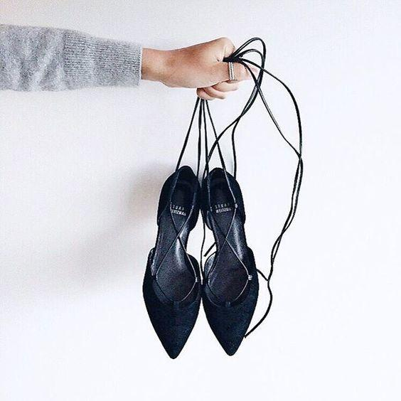 New Arrival Spring Lace Up Shoes @ Stuart Weitzman