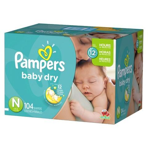 $10 Gift Card with Purchase of 2 Select Diaper Packs @ Target.com