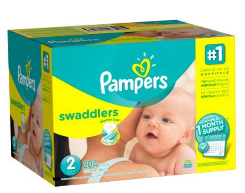 Prime Members Only! 30% Off + Extra 20% Off Pampers Diapers Sale @ Amazon