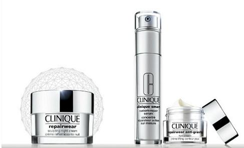 7-Piece Gift + free shipping with Any $27 Clinique Smart Product purchase  @ Macys.com