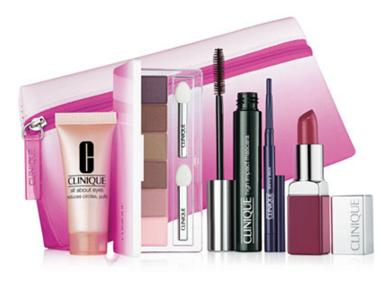$39.5 + 7-Piece Gift with Clinique Date With Colour Set purchase  @ Macys.com