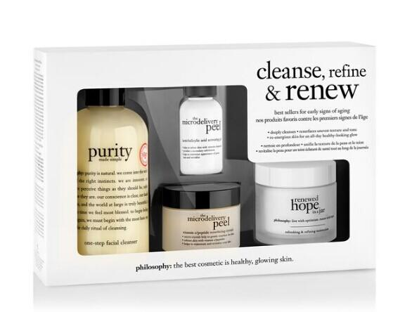 cleanse, refine & renew kit ($110 Value)@ philosophy