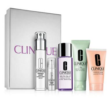 $69.5 + 8-Piece Gift with Clinique All Smarts Set purchase  @ Macys.com