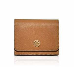 ROBINSON MULTI-GUSSET CARD CASE @ Tory Burch
