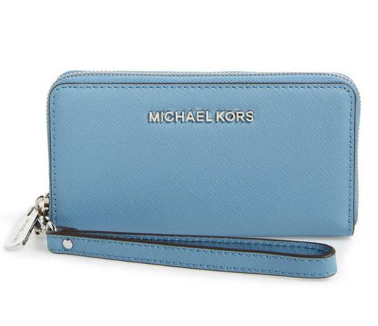 $58.8 MICHAEL Michael Kors 'Jet Set' Saffiano Leather Phone Wristlet On Sale @ Nordstrom