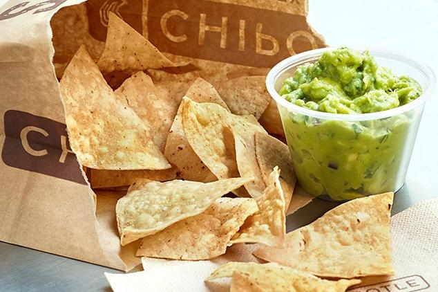 FREE Order of Guacamole & Chips @ Chipotle