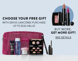 Free 7-Piece Gift (up to $130 Value) with $39.5 Lancome Purchase @ Nordstrom