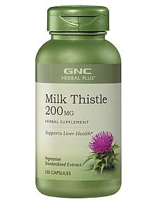 2 for $28.99 GNC Herbal Plus Milk Thistle 200 MG