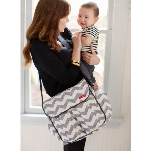Skip Hop Dash Messenger Diaper Bag