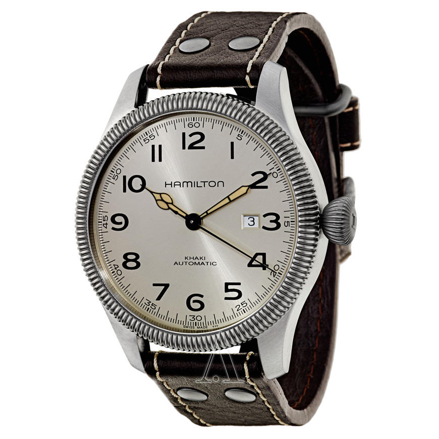 Hamilton Men's H60515593 Khaki Field Pioneer Auto Watch