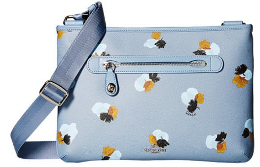 $135.99( COACH Whls Floral Printed Taylor Crossbody On Sale @ 6PM.com