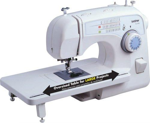 $82.65 Brother XL-3750 Convertible 35-Stitch Free-Arm Sewing Machine with Quilting Table, 7 Presser Feet