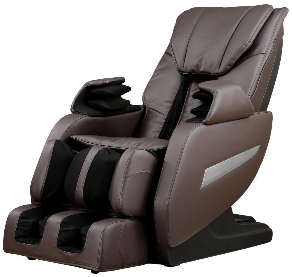 Full Body Zero Gravity Shiatsu Massage Chair Recliner 3D Massager Heat Long Rail