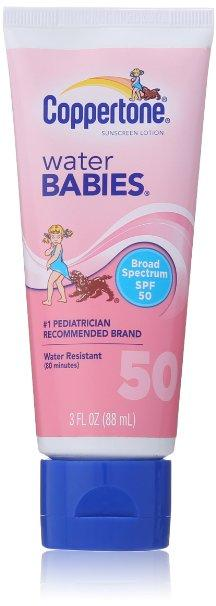 $3.32 Coppertone Water Babies SPF 50