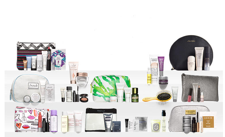 Up to $250 Value Free Gifts with Beauty Purchase @ Nordstrom