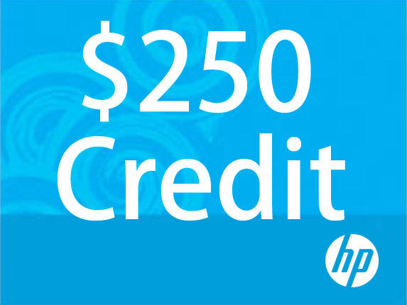 $200 for $250 Towards HP.com