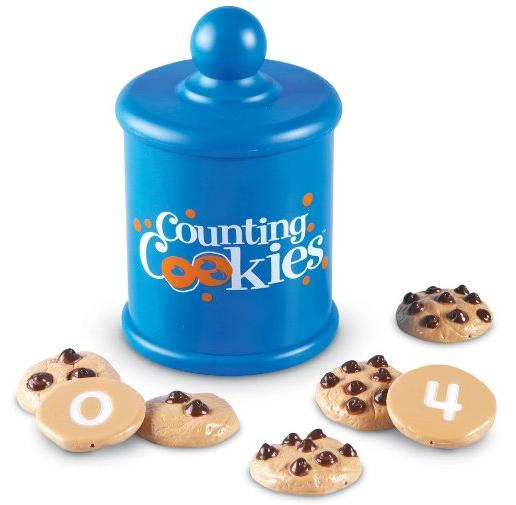 Learning Resources Smart Snacks Counting Cookies, 13 Pieces @ Amazon