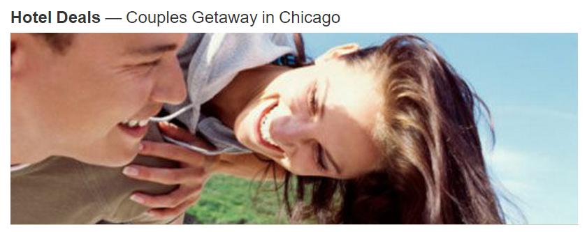 Hotels Couples Getaway for 2 to Chicago @ Marriott