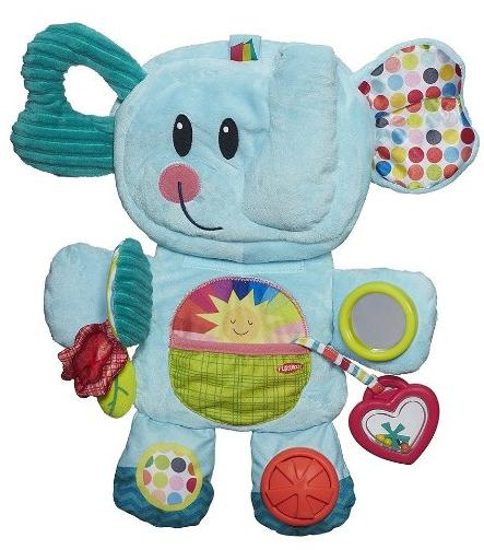 Playskool Fold 'n Go Busy Elephant - Blue @ Amazon