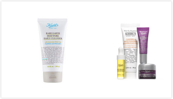 Get a full-size Rare Earth Deep Pore Daily Cleanser with $150 Kiehl's purchase