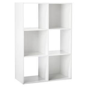 $34.99 + $5 Off $50 6-Cube Organizer Shelf