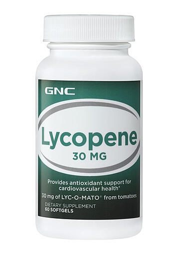 GNC Lycopene 30 MG 60 softgels