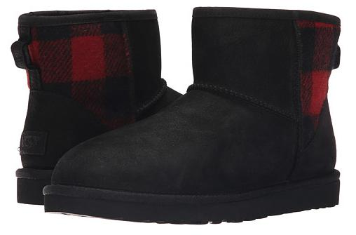 UGG Classic Mini Plaid Boots