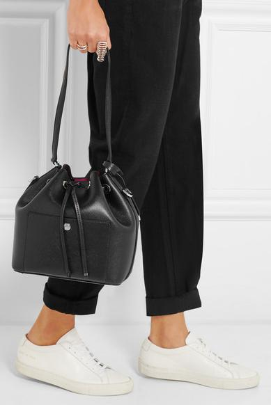 MICHAEL Michael Kors 'Small Greenwich' Leather Bucket Bag