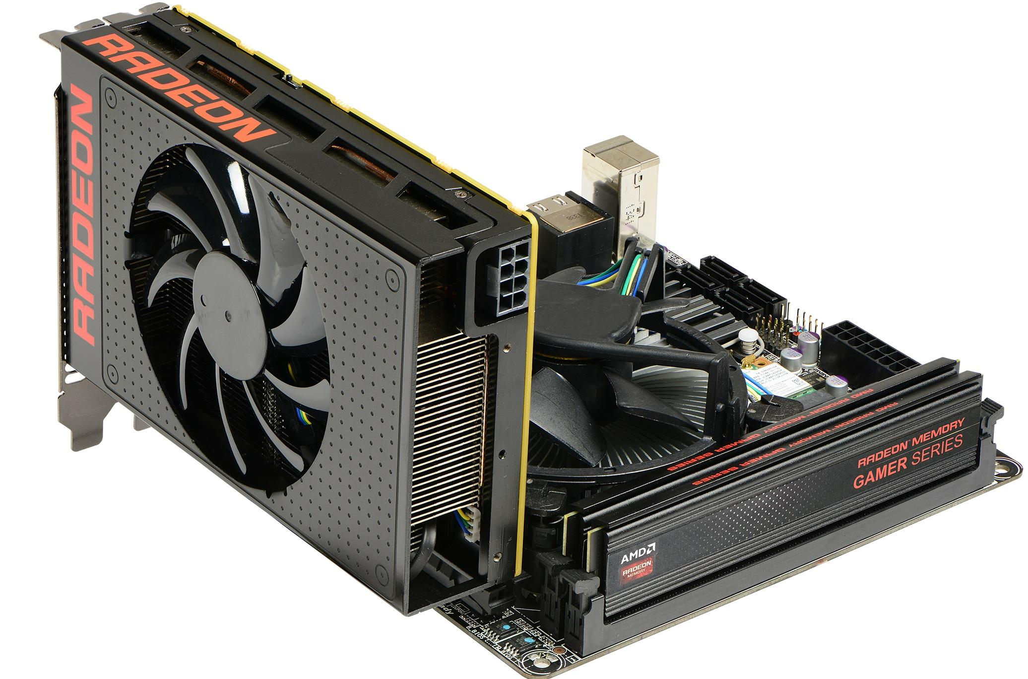 XFX Radeon R9 Nano 4GB 4096-Bit HBM Video Card