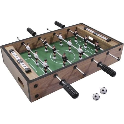 $7.99 Grand Star Tabletop Foosball Game - Light Brown/Green/Black