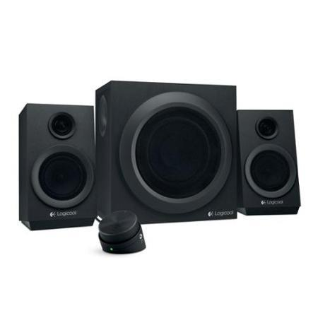 Logitech Z333 2.1-Channel Subwoofer 80W Multimedia Speaker System