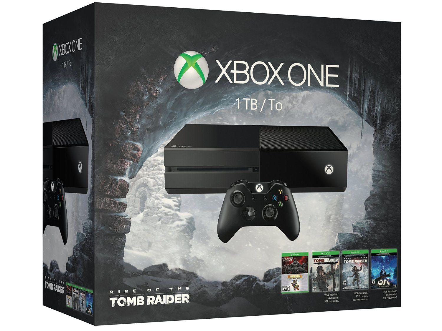 $349.99 Xbox One 1TB Console 5 Games Bundle