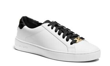 Irving Leather Sneaker @ Michael Kors