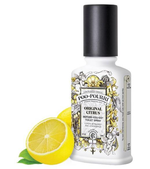 Poo-Pourri Before-You-Go Toilet Spray 4-Ounce Bottle, Original Scent